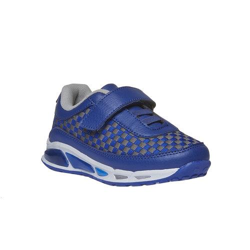 Sneakers da bambino con chiusura a velcro mini-b, viola, 211-9119 - 13