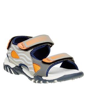 Sandali da bambino mini-b, grigio, 261-2168 - 13