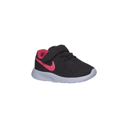 Sneakers da bambino con chiusura in velcro nike, nero, 109-6630 - 13