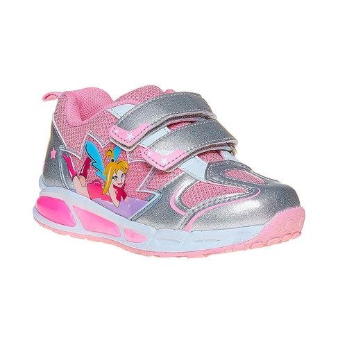 Sneakers argentate da ragazza mini-b, argento, 221-2177 - 13