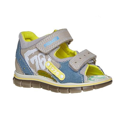 Sandali in pelle per bambino con velcro primigi, marrone, 166-3122 - 13