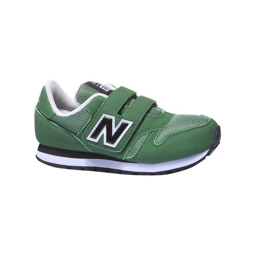 Sneakers da bambino alla moda new-balance, verde, 309-7373 - 13
