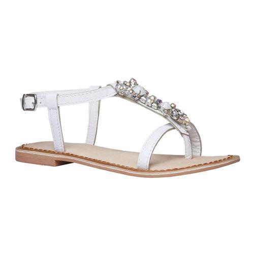 sandalo bimba mini-b, bianco, 364-1163 - 13