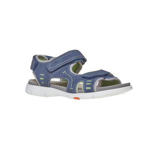 Sandali da bambino flexible, blu, 363-9188 - 13
