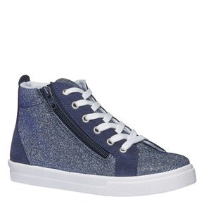 Sneakers alla caviglia con riflessi metallici north-star-junior, viola, 329-9195 - 13