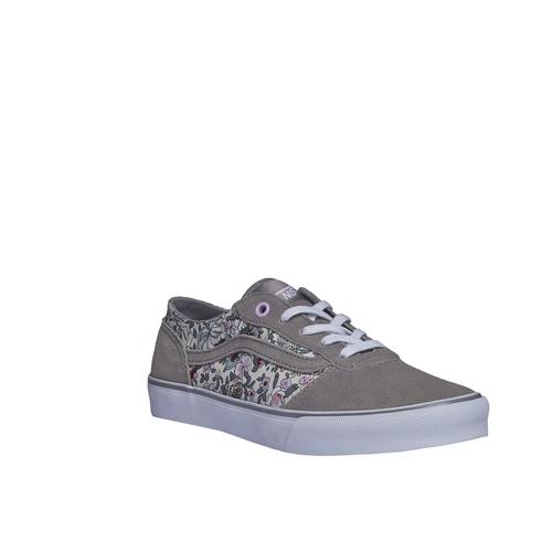 Sneakers da donna con stampa floreale vans, grigio, 503-2700 - 13