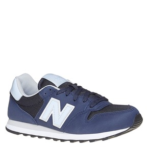 Sneakers blu da donna new-balance, blu, 501-9500 - 13