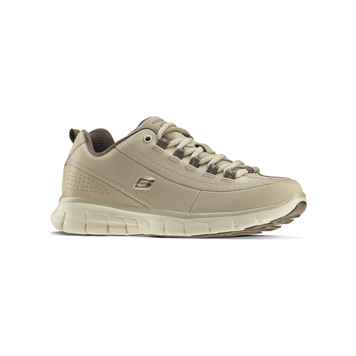 Sneakers da donna in pelle skechers, beige, 503-3323 - 13