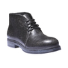 Scarpe alla caviglia con suola di contrasto bata, nero, 521-6365 - 13