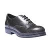 Sneakers informali con suola di contrasto bata, nero, 521-6364 - 13