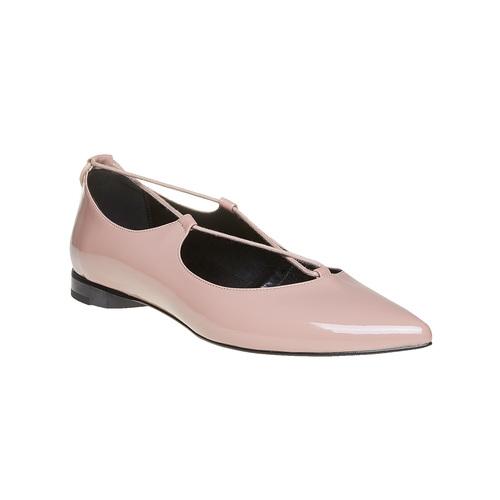 Ballerine con lacci bata, rosa, 521-5211 - 13