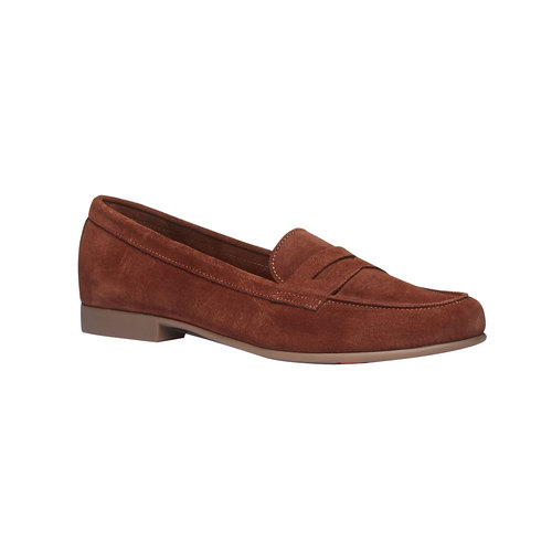 Penny Loafer di pelle flexible, marrone, 513-3196 - 13