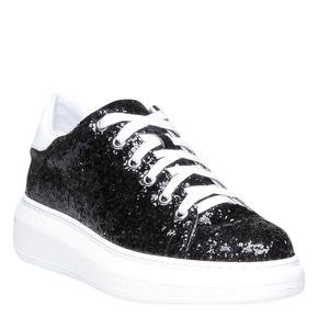 Sneakers da donna con glitter north-star, nero, 541-6223 - 13