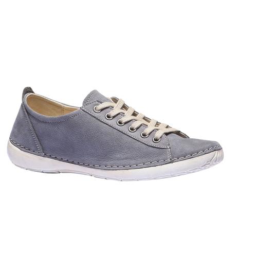 Sneakers comode di pelle weinbrenner, blu, 544-9151 - 13