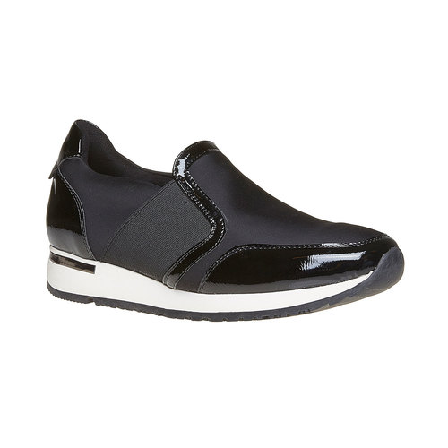 Sneakers da donna north-star, nero, 541-6267 - 13