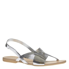 Sandali argentati bata, argento, 561-1131 - 13