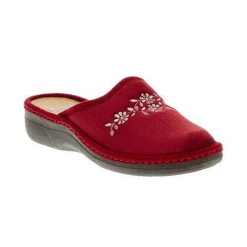 Pantofole da donna bata, rosso, 579-5233 - 13