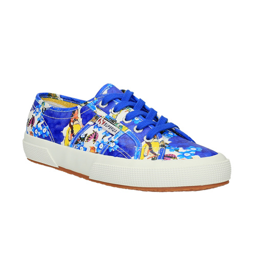 Sneakers colorate da donna superga, viola, 589-9319 - 13