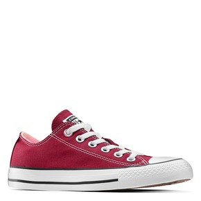 Sneakers in tessuto converse, rosso, 589-5279 - 13