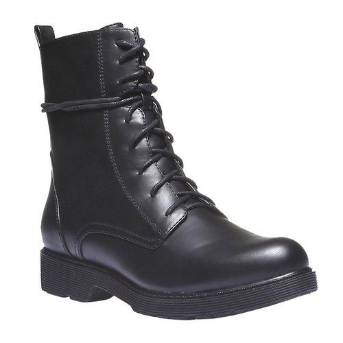 Scarpe da donna alla caviglia bata, nero, 591-6247 - 13