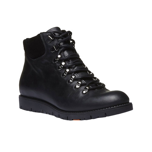 Scarpe in pelle con lacci originali flexible, nero, 594-6261 - 13