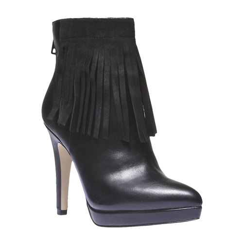 Scarpe alla caviglia con tacco a spillo bata, nero, 791-6589 - 13