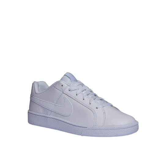 Sneakers bianche di pelle nike, bianco, 801-1102 - 13