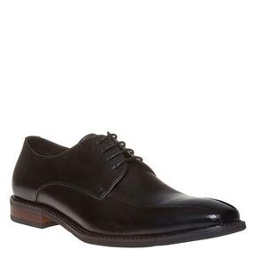 Scarpe basse in stile Derby bata, nero, 824-6311 - 13