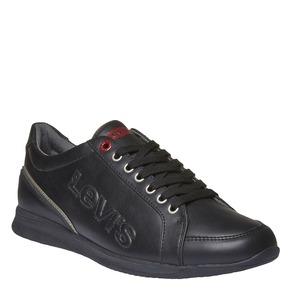 Sneakers di pelle levis, nero, 841-6263 - 13