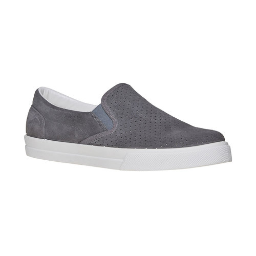 Slip-on con perforazioni north-star, grigio, 833-2118 - 13