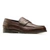 Scarpe da uomo in pelle in stile Loafer bata, marrone, 814-4128 - 13