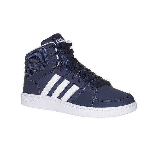 Sneakers da uomo alla caviglia adidas, viola, 801-9140 - 13