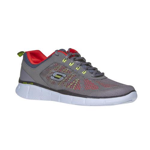 Sneakers sportive da uomo skechers, grigio, 809-2998 - 13