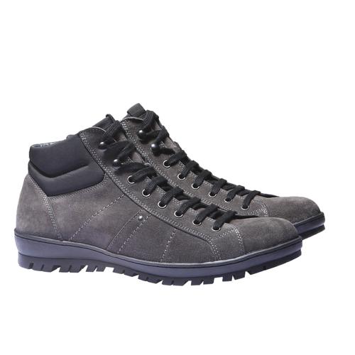 Stivaletti bata, grigio, 893-2542 - 26