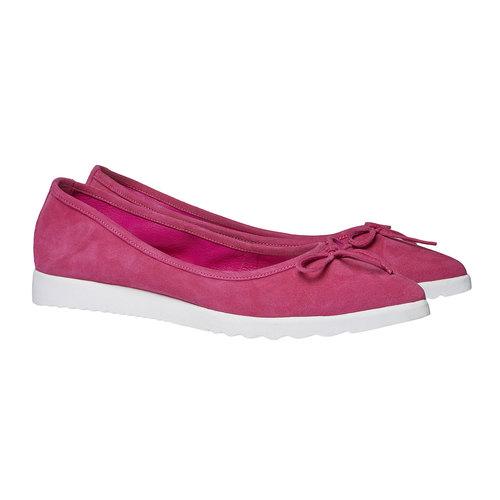 Ballerine a punta bata, rosa, 529-5494 - 26