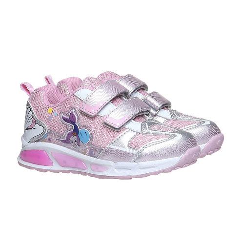 Sneakers da bambino con velcro mini-b, bianco, 229-1159 - 26