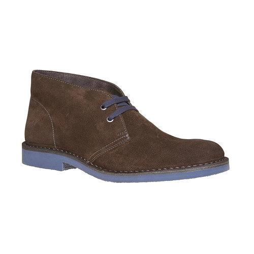 Scarpe alla caviglia in stile Chukka bata, marrone, 893-4275 - 13
