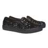 Slip-on da bambina con glitter mini-b, nero, 329-6229 - 26