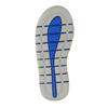 Sandali da bambino con strisce di pelle mini-b, blu, 264-9166 - 26