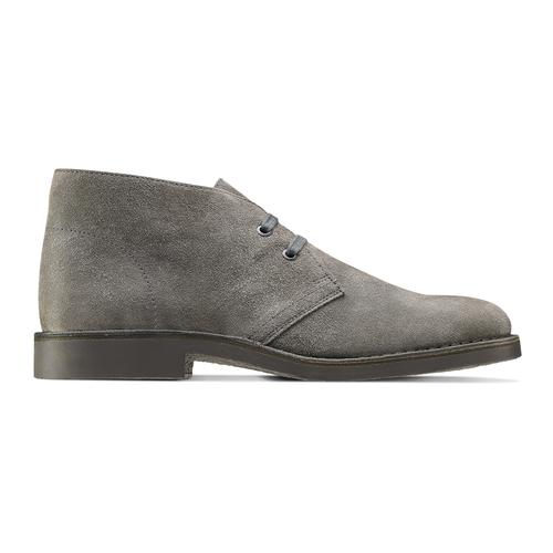 Scarpe alla caviglia in stile Chukka bata, grigio, 893-2275 - 26