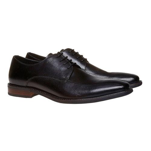 Scarpe basse in stile Derby bata, nero, 824-6311 - 26