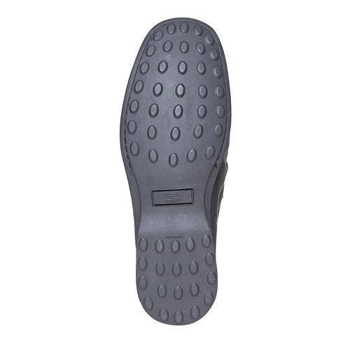 Scarpa casual stile Loafer bata-comfit, nero, 854-6833 - 26