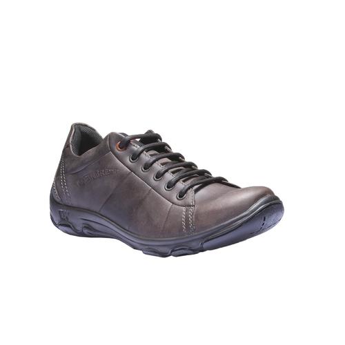 Sneakers di pelle weinbrenner, marrone, 844-4387 - 13