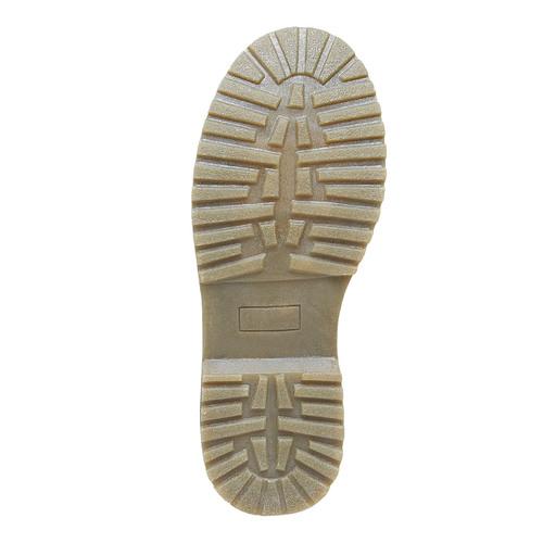 Scarpe sopra la caviglia da bambino con glitter mini-b, nero, 399-6253 - 26