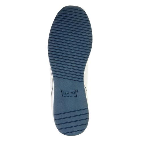 Sneakers da uomo in pelle levis, bianco, 844-1509 - 26