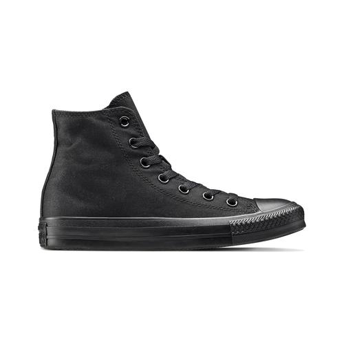 Sneakers nere alla caviglia converse, nero, 589-6678 - 26