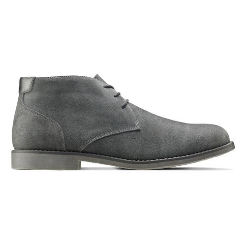 Scarpe uomo bata, grigio, 843-2380 - 26