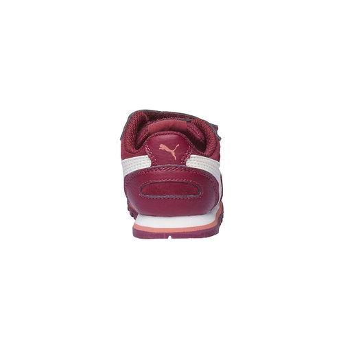 Scarpe sportive bambino puma, rosso, 103-5182 - 17