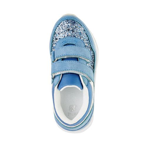 Sneakers da bambino con glitter mini-b, viola, 221-9150 - 19