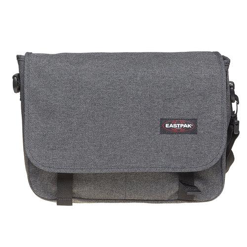 Borsa a tracolla in tessuto eastpack, grigio, 999-6651 - 17